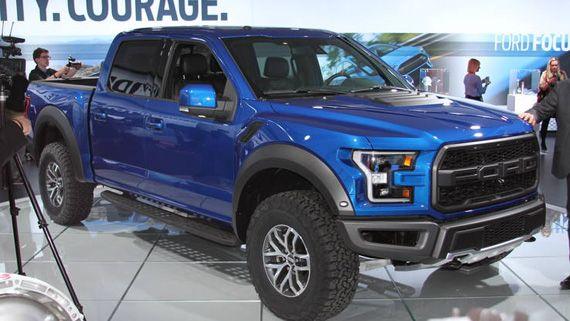 Пикап Ford Raptor / Форд Раптор