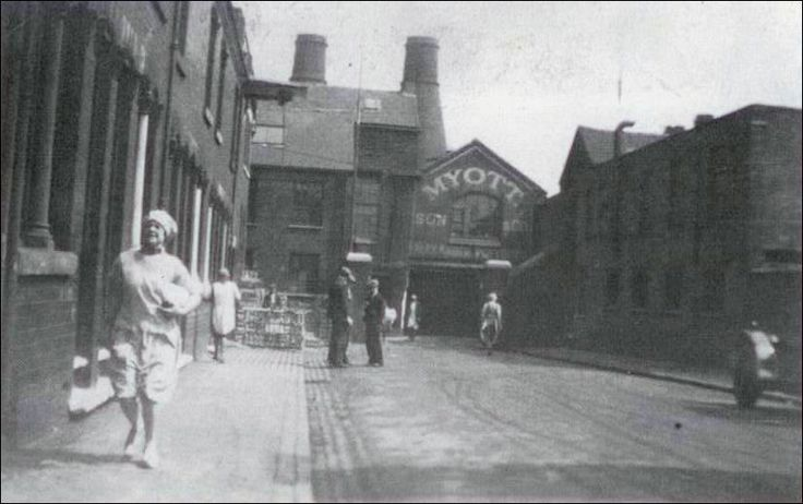 Myott Son & Co, Arthur Street Cobridge in the 1930's