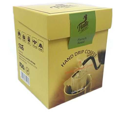 FLAFFE HAND DRIP COFFEE French Roast Coffee Pour Over Coffee Ground Coffee  Single Serve Coffee Coffee Maker 10 Count -- Visit the image link more details.