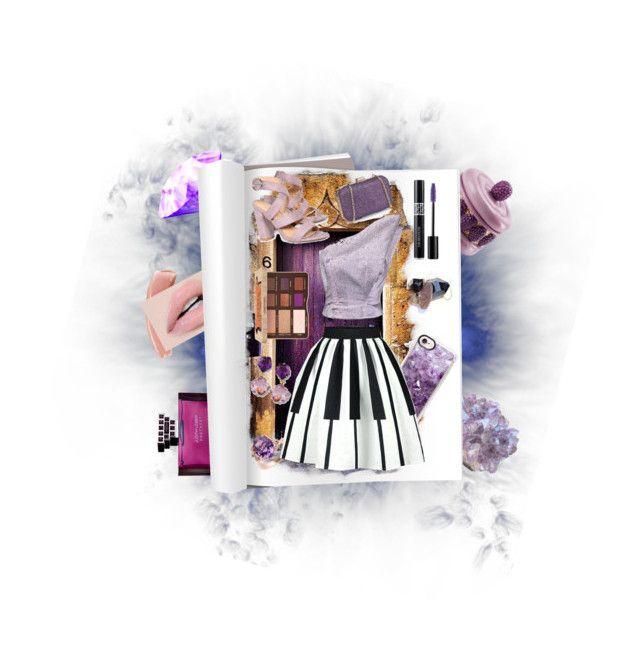"""Amethyst"" by spookie1 ❤ liked on Polyvore featuring Judith Leiber, Villari, Effy Jewelry, Casetify, Vika Gazinskaya, Boohoo, Too Faced Cosmetics and Christian Dior"