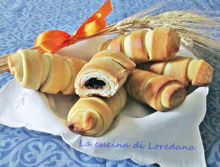 Flauti alla nutella - Dolci da colazione