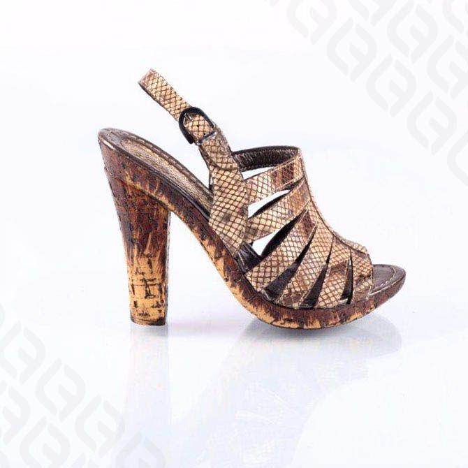 Sandale maro femei 463 - C - Leofex - pantofi din piele si accesorii