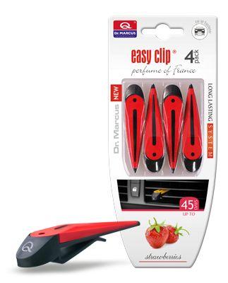 Aromatizante Easy Clip para tu automóvil, exquisitos sabores. Valor $ 3.000 al detalle .