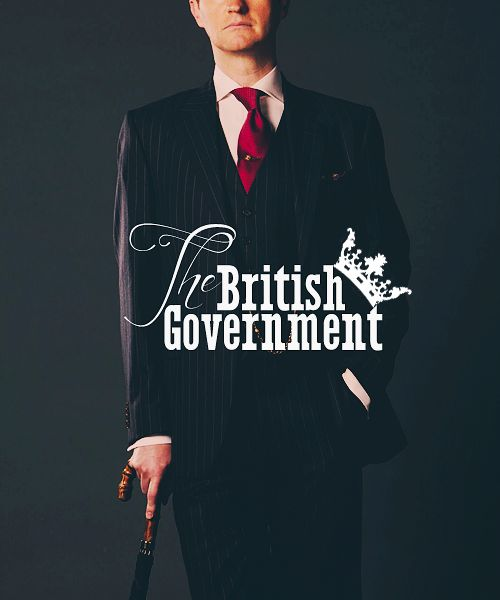 Mycroft Holmes: He practically is the British Government. His name literally opens doors. Sherlock.