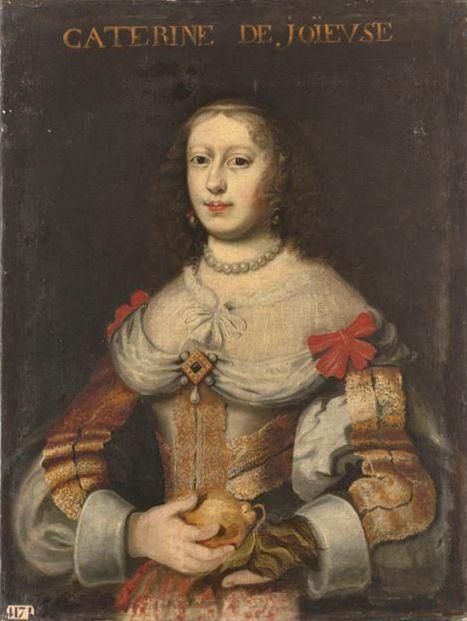 Portrait of Henriette Catherine de Joyeuse wife of Charles de Lorraine, 4th Duke of Guise.