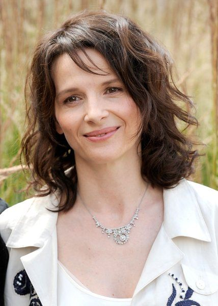 "Juliette Binoche -- Ever since Chocolat and a follow-on interview, I thought ""we could hang"" ;)"
