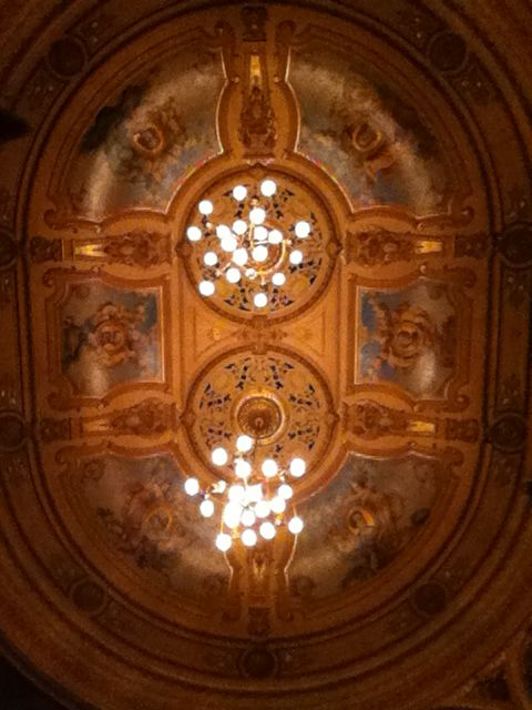 Seven Brides for Seven Brothers: Blackpool Grand Ceiling