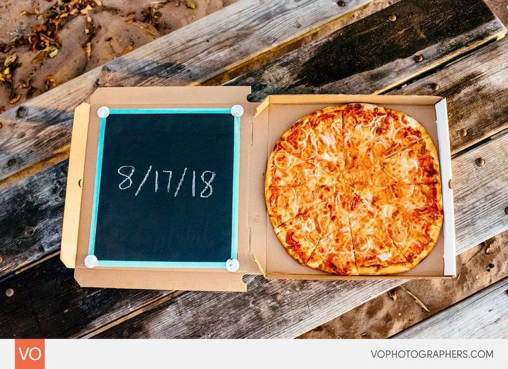 Now this is how you do a proper Save The Date when you're in the pizza business =D. LOVE IT!  #enagagement #fallgagement #newhaven #newhavenengagement #sunset #lighthousepointpark #lighthousepointparkweddings #ido #isaidyes #love #ctengagement #woodwindsweddings #woodswinds #branfordwedding #branfordweddings #nikon #sky #gotengaged #engaged #branfordweddingphotographer #branfordphotographer #pizzalove #savethedate #savethedateideas