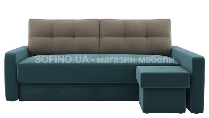 Диван Валенсия Пуф отличается пуфом! Его смело можно назвать модульным. Вы сможете самостоятельно превратить угловой диван в прямой и все это за считанные секунды! Цвет обивки может быть самым разным, его Вы выбираете сами.  В этой модели использовалась ткань в цвете emerald | ash.