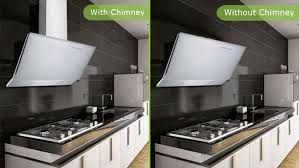 Image result for electriq 90cm angled cooker hood