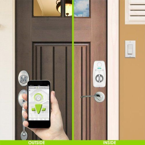 OKIDOKEYS allow you to unlock doors with Bluetooth 4.0 enabled smartphones, cell-phones and OKIDOKEYS RFID Smart-Tags (included). The best thing about this super innovative locking system is the ability to create, send and cancel mobile keys for family, friends and guests from anywhere, at anytime. Receive notification when any door is unlocked. The system is easy to install. ~$430 More info: bit.ly/Christmas_gifts_PR #Christmasgifts #presents #okidokeys