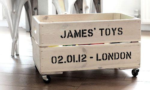 Speelgoedkist | Toy box - http://thefashionguitar.com
