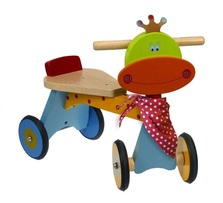 hello, Wonderful - 8 STARTER WOODEN RIDE-ON TOYS FOR TODDLERS