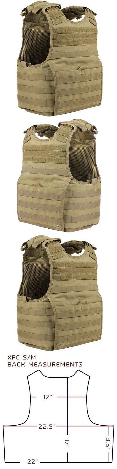 Chest Rigs and Tactical Vests 177891: Condor Xpc Exo Plate Carrier Tan Infantry Chest Armor Molle Tactical Vest S-M -> BUY IT NOW ONLY: $73.95 on eBay!