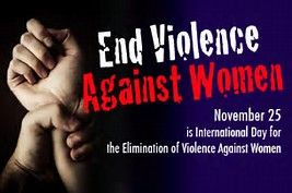 International day for Elimination of Violence against women - November 25th
