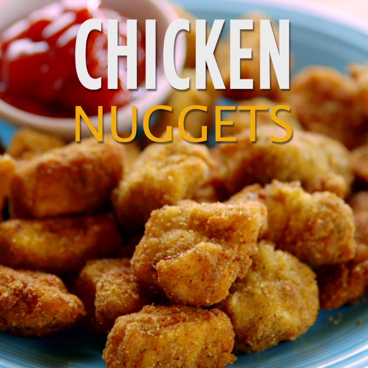 Ree's homemade Chicken Nuggets are super easy to make and even more fun to eat!                                                                                                                                                                                 More