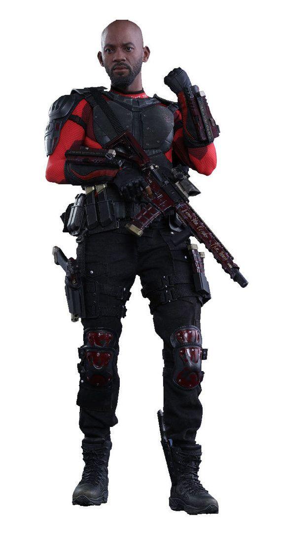 Escuadrón Suicida Figura Movie Masterpiece 1/6 Deadshot 32 cm