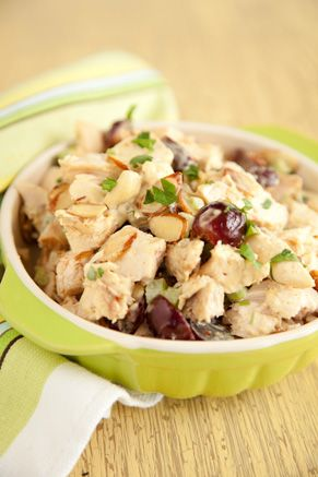Paula Deen Curry Chicken Salad