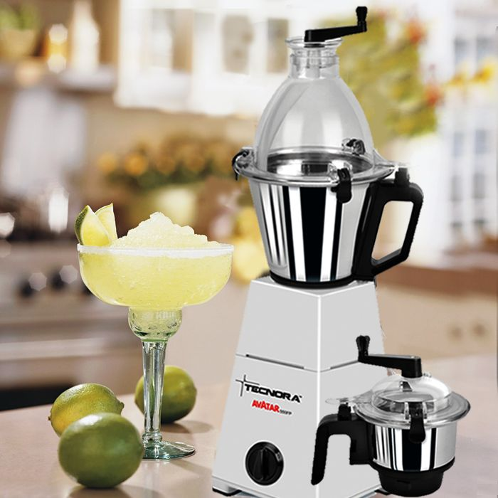 Start your day on a healthy note! Keep nutritious smoothies always on your breakfast menu with Tecnora Mixer/Grinder. A unique patented safety mechanism on all jars will make sure that there are no accidental spillages ever.