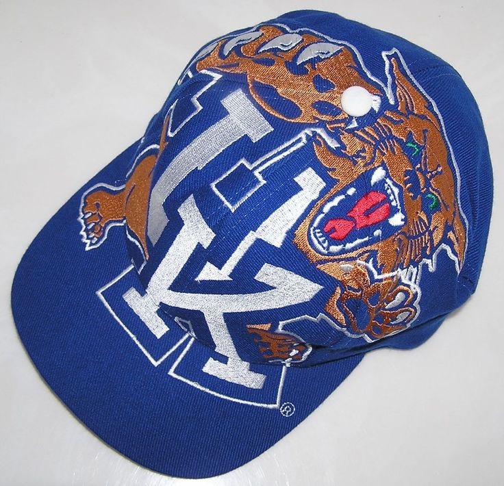 Kentucky Wildcats NCAA Basketball Vintage The Game Big Logo Snapback Hat Cap #TheGame #KentuckyWildcats