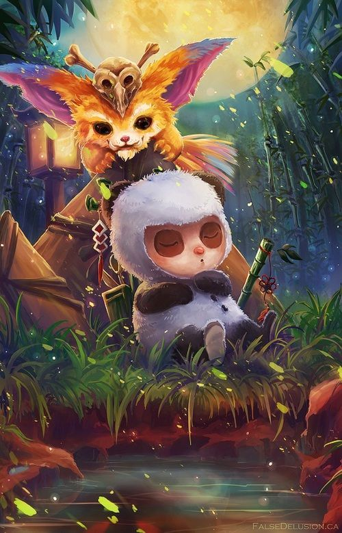 grafika gnar, teemo, and lol