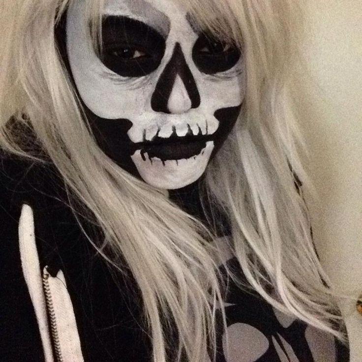 My Daughter in her Halloween creation 2013