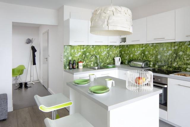 biała kuchnia, mdf lakier pólmat, www atoato pl  White   -> Kuchnia Ecru Z Czarnym Blatem