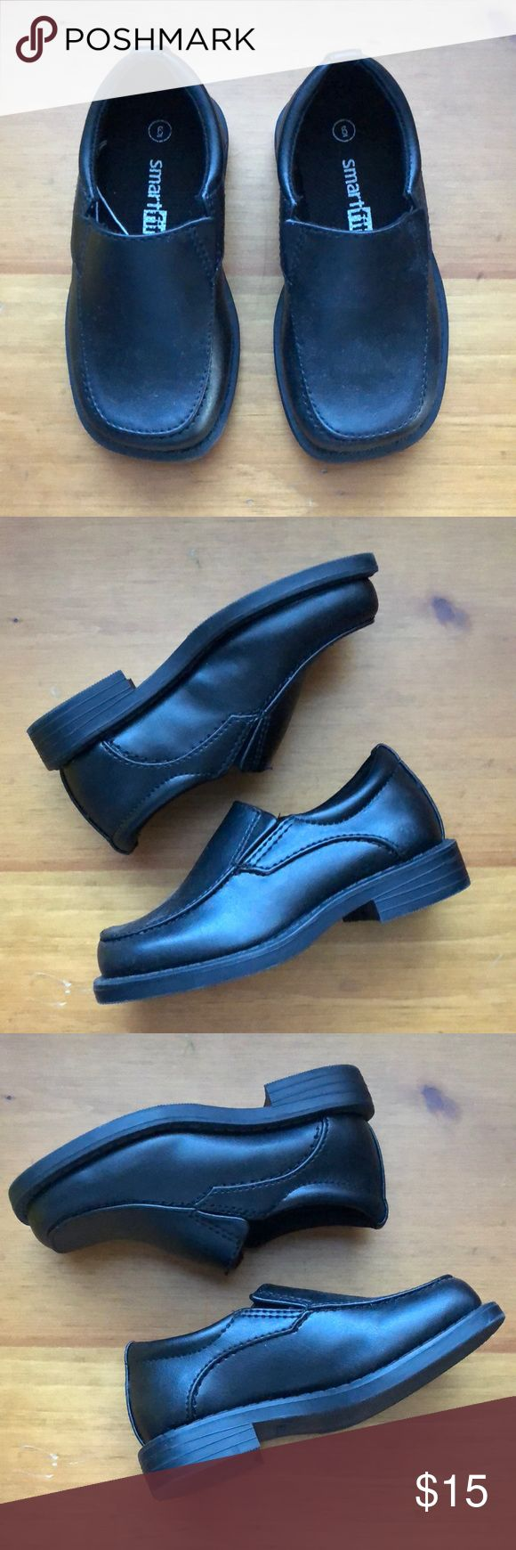 🔹SMARTFIT🔹 toddler dress shoes Black dress shoes from SmartFit, toddler boys size 6. Worn once to a wedding — like new condition. SmartFit Shoes Dress Shoes