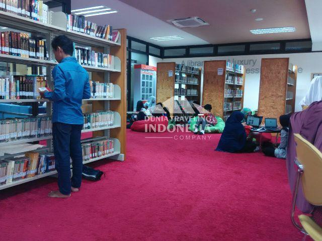 Habiskan 72,5 Milyar, Perpustakaan Grhatama Pustaka Jadi Lokasi Hits di Jogja