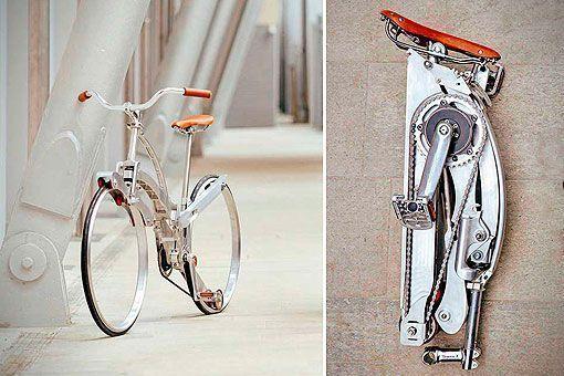 La bicicleta portátil más plegable del mundo