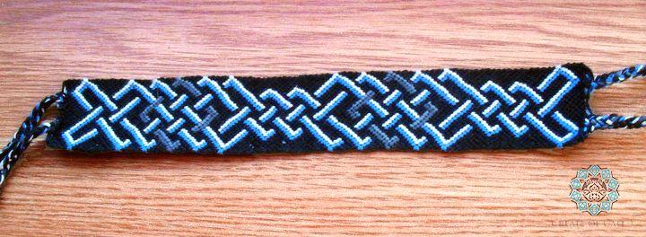 Friendship bracelet - celtic pattern
