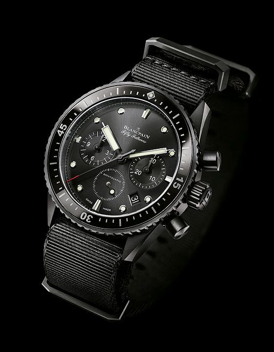 From Baselworld 2014: Blancpain Bathyscaphe Flyback Chronograph ($17,000)