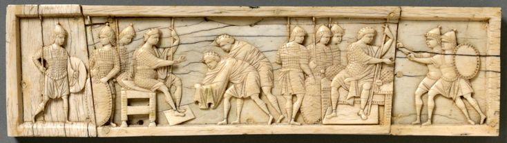 Scenes from the book of Joshua - A Byzantine Plaque, 10th century