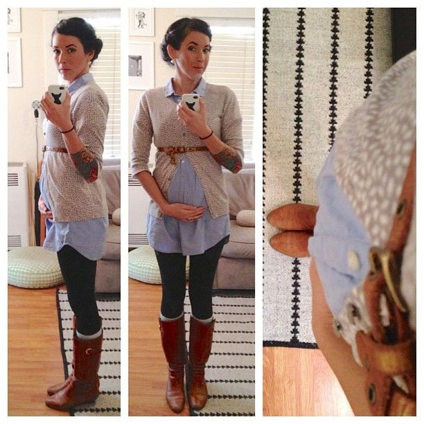 Not sure if I'm tall enough to pull off a long shirt like this..but this is really cute and looks comfy!