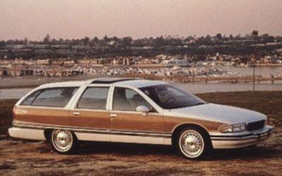 Buick Roadmaster Estate Wagon 1993 - Bar C errand car