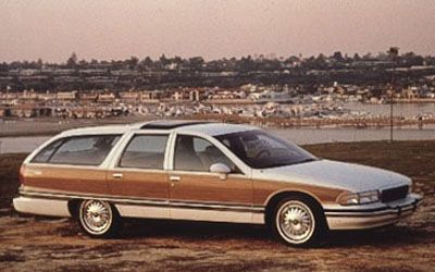 1993 Buick Roadmaster Estate Wagon - I absolutely love these.