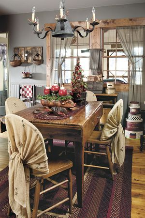 125 best Country Sampler images on Pinterest | Prim decor, Country ...