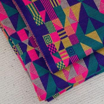 Machine Knitted Merino Pram Blanket