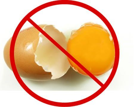 Egg- free paleo substitutions