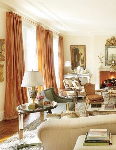 Georgian Style Living Room Virginia Home, Bunny Williams Image AD