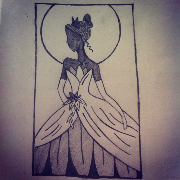 My own rendition of princess Tiana