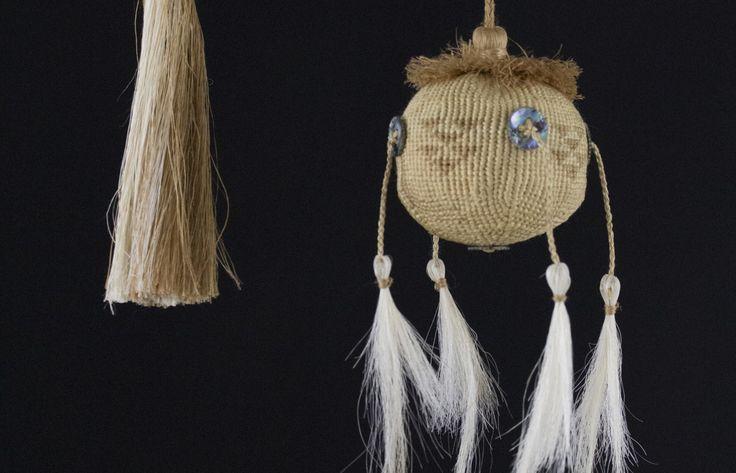 Poi Taniko - Rāranga    NZ Māori Arts and Crafts