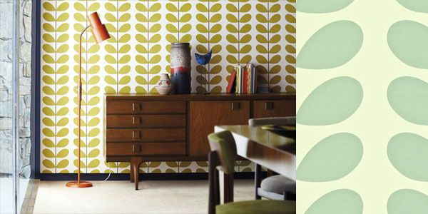 110390 Classic Stem Orla Kiely Wallpaper by Harlequin