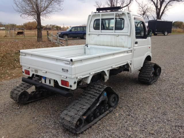 Trucks On Tracks Snow Bound Suzuki Camoplast Carry Star