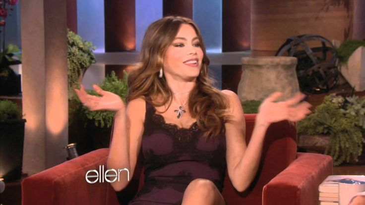 Sofia Vergara - this woman is crazy funny! Who has most fun - blondes or brunettes? ... watch her answer!