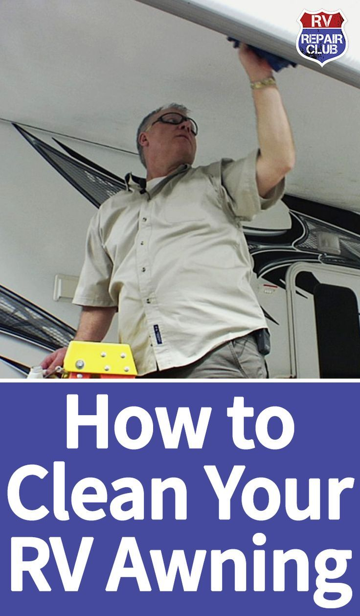 There Are A Few Different Ways To Clean An RV Awning Ensuring It Remains Mold
