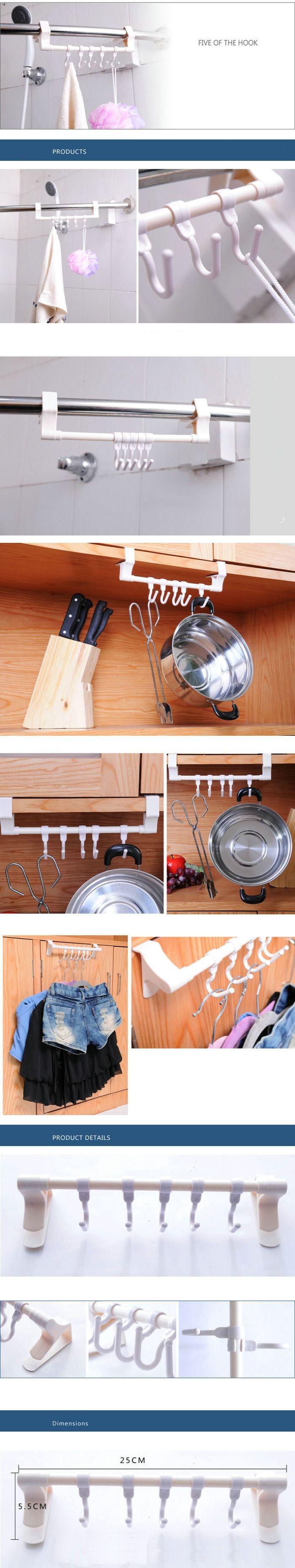 Ausziehbarer Handtuchhalter Küche Bad Halter Handtuch Geschirrtuch