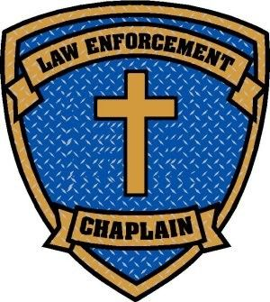 Police Stickers   Police Chaplain Decal 2 Helmet Size