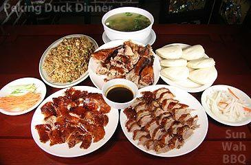 Sun Wah BBQ Beijing Duck Dinner- the best peking duck in Chicago!
