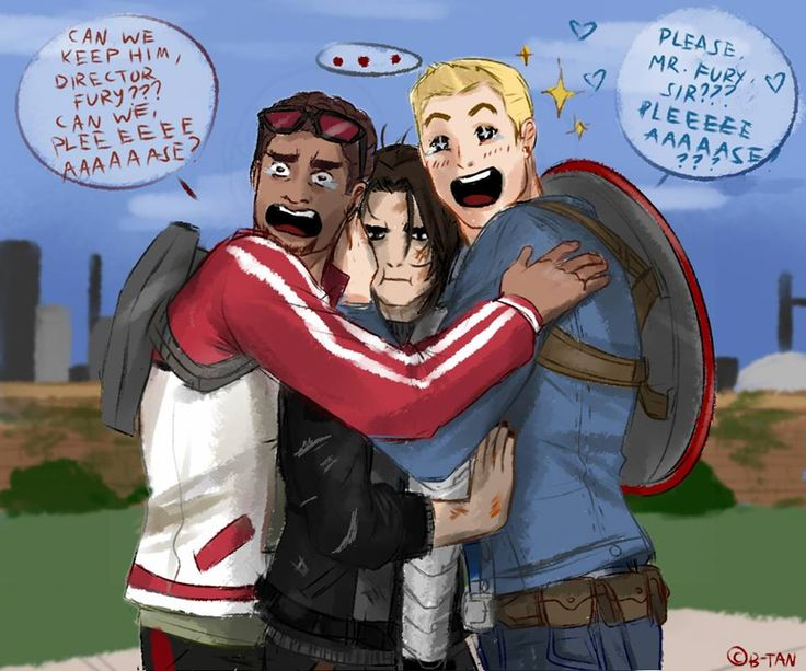 "callousvixen doodles — ""CHARACTER RECRUITED!: WINTER SOLDIER""   ""Better..."